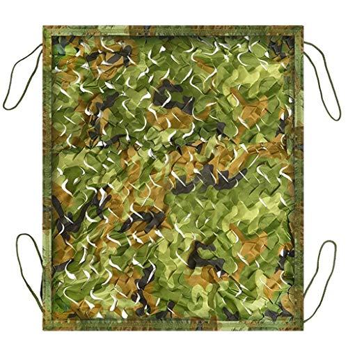 WZHCAMOUFLAGENET Dschungel-Modus Tarnnetz Berg Camouflage Doppelschicht Polyestergewebe Outdoor Sonnenschutz Dschungel Fotografie Multi-Size Optional (größe : 4 * 6m)