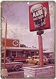 CDecor A&W Root Beer Blechschilder, Metall Poster, Retro