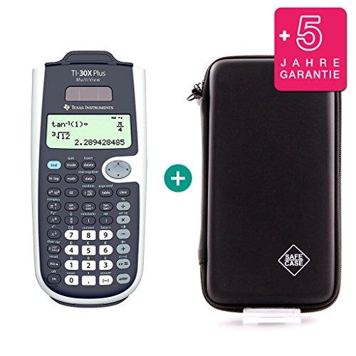 TI-30X Plus MultiView + Schutztasche + Erweiterte Garantie