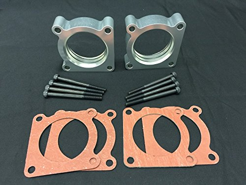 Dual Throttle Body Spacer fit 09-17 Nissan 370Z Nismo Fairlady Z VQ37VHR Engines