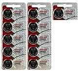 CR2032 Maxell 3 Volt Lithium  Watch Batteries (11 Batteries)