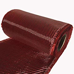 High Strength - 2 x 2 TWILL WEAVE 3K TOW - (3,000 filaments) Heavy Duty 220g/sq. meter Thickness 0.46 mm Multi directional weaving