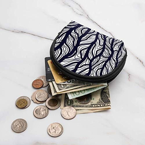 Wood Texture Magic Wand Shell Shape Portable Bags Clutch Pouch Travel Waterproof Toiletry Bag Band Zipper for Ladies Organizer Coin Purse Storage Bags