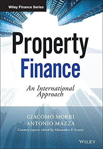 Property Finance: An International Approach (The Wiley Finance Series)