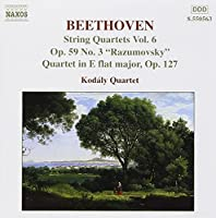 String Quartets #6 by BEETHOVEN (2000-01-25)