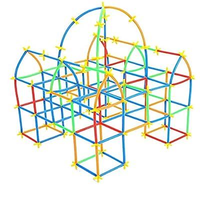 Amazon - Save 15%: Yo!Wow STEM Straws Constructors Building Toys 700 pcs Creative Prescho…