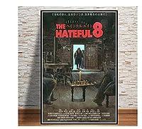 クラシック映画クエンティンタランティーノポスターキャンバスアートポスターとウォールアート写真プリントモダンファミリーインテリアポスター-50x70cmフレームなし