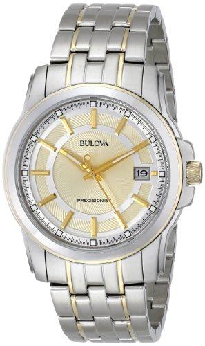 Bulova Men's 98B156 Precisionist Champagne dial Watch