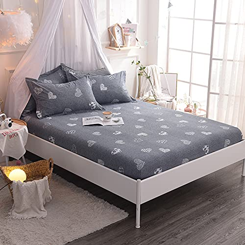 NTtie King Size Microfiber Bed Sheets, Ultra Soft Silky Smooth and Wrinkle-Resistant One piece cotton bedspread