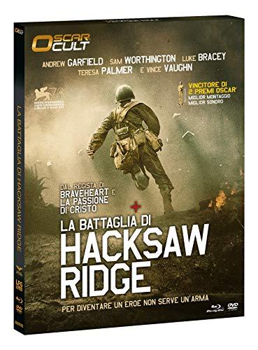 "La Battaglia Di Hacksaw Ridge ""Oscar Cult"" Combo (Br+Dv) Ltd Ocard Numerata"