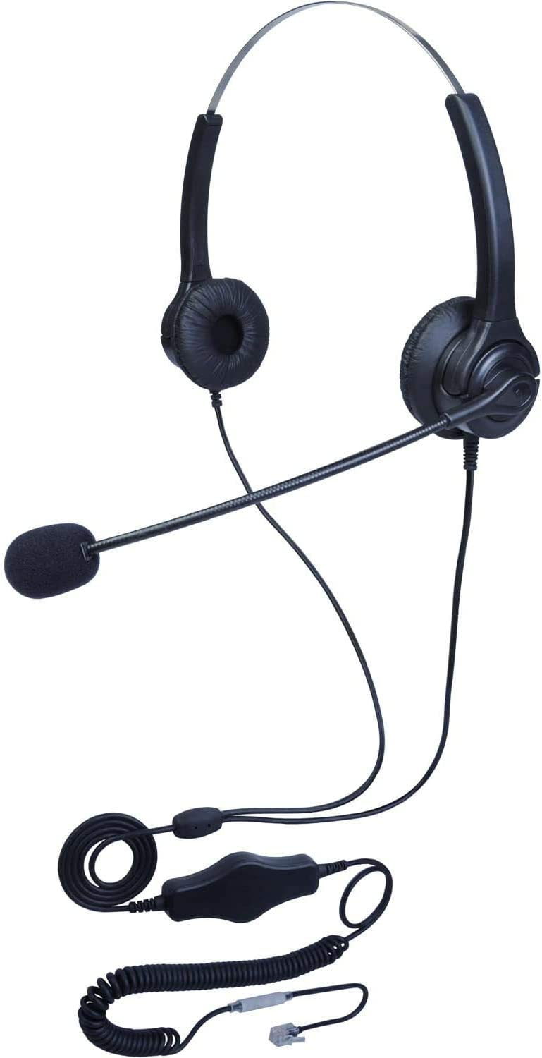 Sales Sales results No. 1 KerLiTar E04 Call Center Corded RJ9 Headset 4-Pin Monaural Noise
