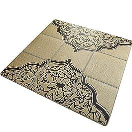 ACUIPP Tapis de Couloir Tapis En Bambou Tapis de Salon En Rotin Tapis D'Été Tapis de Style Japonais Tapis Rampant Pour…