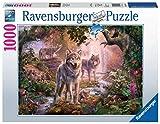Ravensburger Puzzle 15185 - Wolfsfamilie im Sommer - 1000 Teile