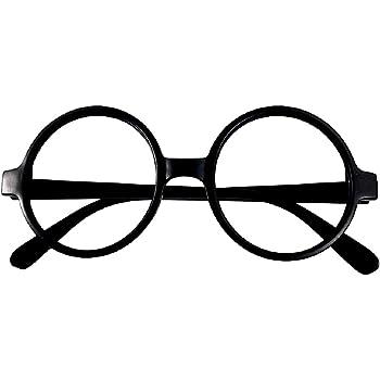 Gafas de payaso - redondas - nerd - fiesta - sin lentes - disfraz ...