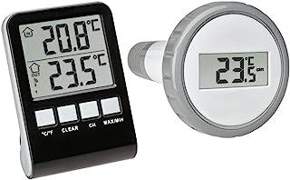 TFA Dostmann Palma Thermomètre de piscine sans fil Anthracite