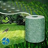 Rollo de estera para semillas de hierba, biodegradable, césped artificial (sin semillas)