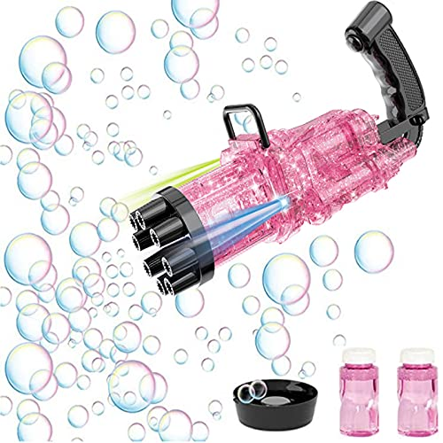Gatling Bubble Gun mit LED Lichter...