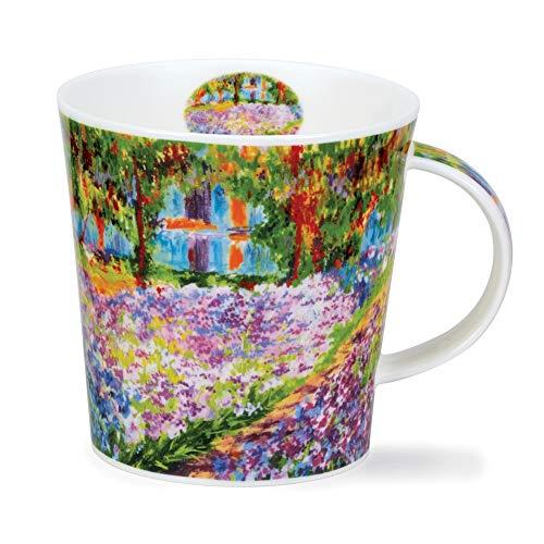 CA-GIVE-GA Giverny Garden Monet - Taza de porcelana (0,48 L), diseño de Cairngorm