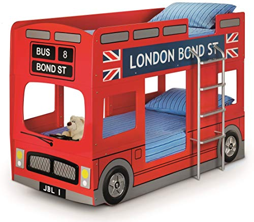 Julian Bowen London Bus Kids Bunk Bed