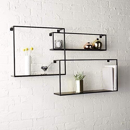 Pyrojewel Montado en la pared flotante Plataforma flotante de soporte de repisa perfecto trofeo Display Dormitorio Cocina Organizador