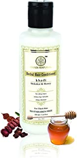 Khadi Natural Shikakai and Honey Hair Conditioner, 210 ml