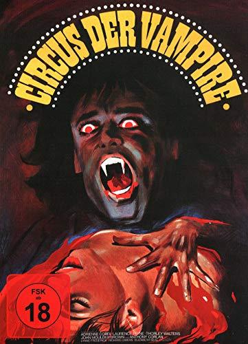 Circus der Vampire - Mediabook - Cover B - Hammer Edition Nr. 27- Limited Edition auf 444 Stück [Blu-ray]