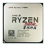 Ryzen 5 2400G R5 2400G 3.6 GHz Quad-Core Eight-Thread 65W CPU Processor YD2400C5M4MFB Socket AM4