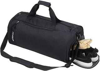fenrad Sac de Sport avec Compartiment Chaussures, Imperméable Sacs de Voyage Grande capacité Portable à la Main/sur l'épau...