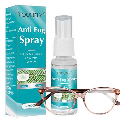 Brillen Antibeschlag,Antibeschlag Spray,Anti Fog Spray,Brillen Antibeschlag Spray,Anti Fog Spray for Glasses,für Brillen,Skimasken,Spiegel,Taucherbrille, 20ML