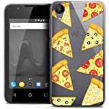Ultra-Slim Case for Wiko Sunny 2 4-Inch Foodie Pizza Design