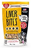 Chewmasters (274386) Beef Liver Bites Freeze Dried Dog Treats Bag, 17.6 Oz.