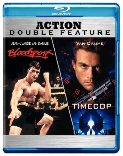At the price Bloodsport quality assurance Timecop Action Feature Blu-ray Double