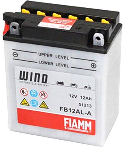 FIAMM Batteria FB12AL-A 12V 12Ah per Aprilia-Pegaso 3 650 dal 1997 Fino al 2004