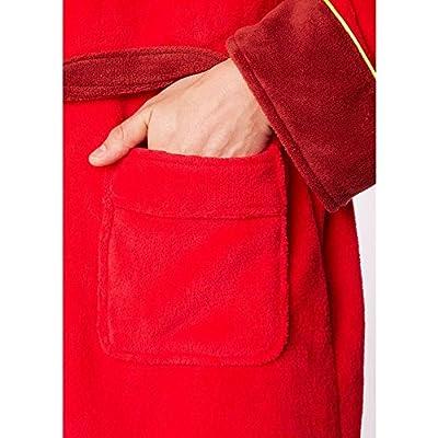 Breaking Bad en polaire à capuche chaude Peignoir classique épais Robe de chambre pour homme