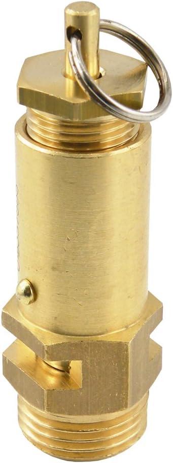 Sicherheitsventile Einstellbar Nicht Bauteilgeprüft 1 16 Bar Druckluft G 1 4 Einstellbereich 10 13 Bar Baumarkt
