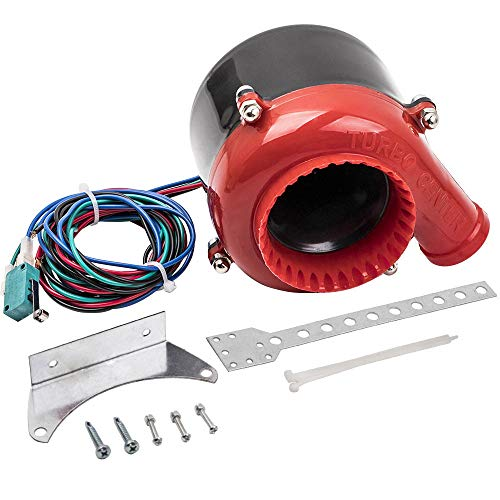 Eléctrico Válvula De Descarga De Coche Falso Válvula Simulador Soplar BOV