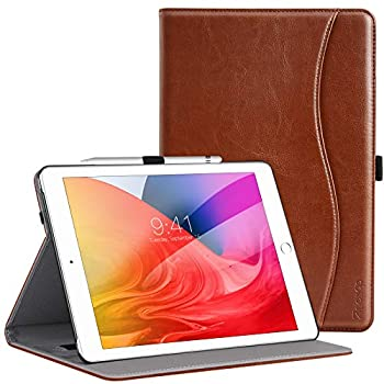 ZtotopCase for New iPad 8th Genaration/iPad 7th Generation 10.2 Inch 2020/2019 Premium PU Leather Folding Stand Cover for iPad 10.2    2020 8th Gen/iPad 10.2   2019 7th Gen Brown
