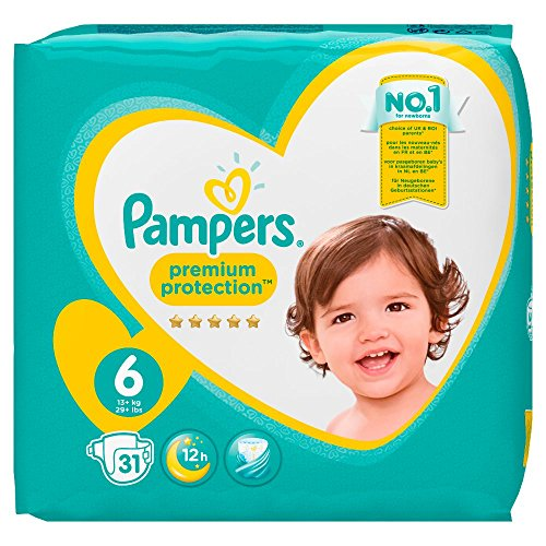 Pampers 81687009 Premium Protection windeln, weiß