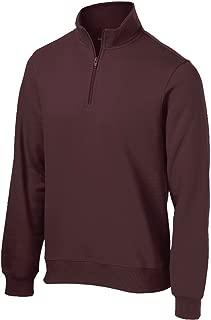 Men's Athletic 1/4-Zip Sweatshirt in Sizes XS-4XL