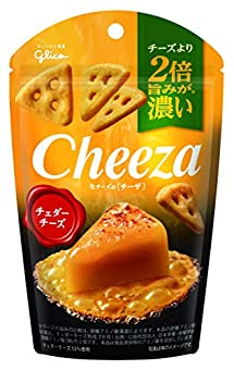 江崎グリコ 生チーズのチーザ<チェダーチーズ> 40g