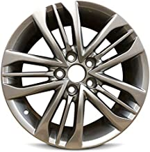 Road Ready Car Wheel For 2015-2017 Toyota Camry 17 Inch 5 Lug Gray Aluminum Rim Fits R17 Tire - Exact OEM Replacement - Full-Size Spar