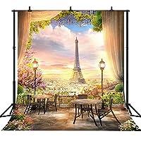 GooEoo 8×8FT(240×240CM)漫画の妖精の街カスタマイズされたシームレスなビニール写真の背景写真の背景スタジオプロップPGT156A