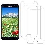 NASFUEY[3 Piezas Protector Pantalla Samsung S7, Protector de Pantalla para Samsung Galaxy S7, Alta Definicion, 9H Dureza, Anti-rasguños, Sin Burbujas, Cristal Templado para Samsung Galaxy S7