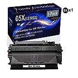 1-Pack (Black) Compatible High Yield 05X (CE505X) Printer Cartridge use for HP Laserjet Pro P2035 P2035n P2055 P2055d P2055dn P2055x Printer