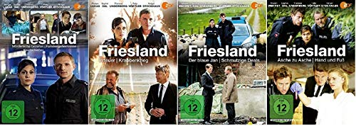 Friesland 9 Filme Paket u.a. Asche zu Asche [DVD Set]