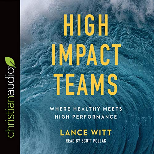 High Impact Teams audiobook cover art