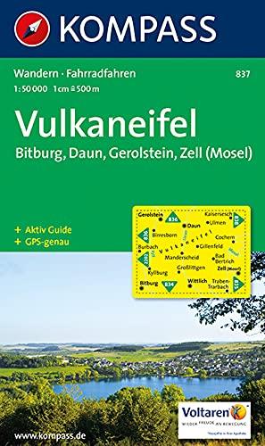 Vulkaneifel 1 : 50 000: Gerolstein. Bitburg, Zell (Mosel). Wander- und Bikekarte. GPS-genau