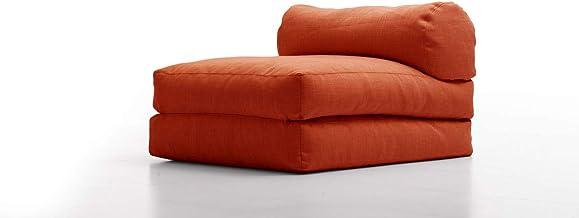 Furniture Runway Ardo Ottoman/Lounge, red