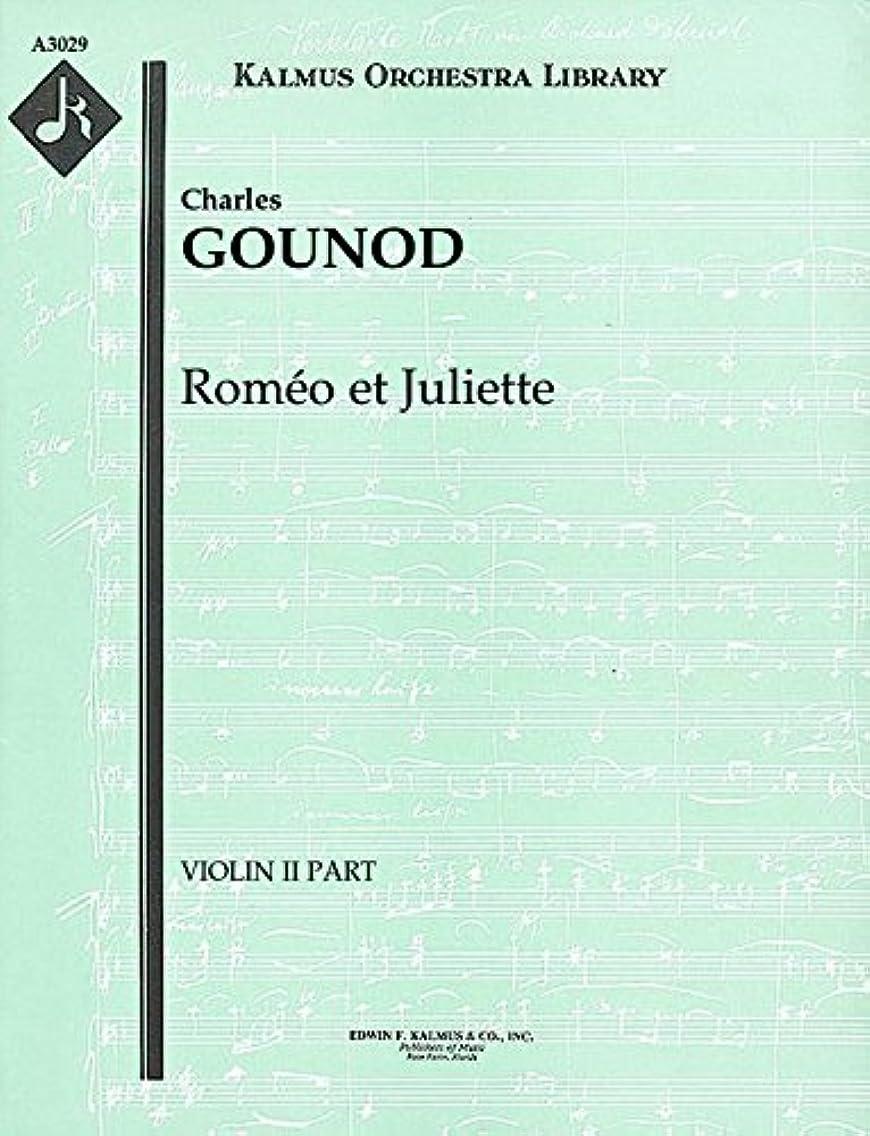 Roméo et Juliette: Violin II part [A3029]