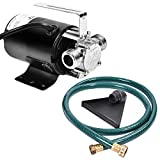 Goplus Water Transfer Pump Portable Electric 120V Sump Utility 330GPH With Hose
